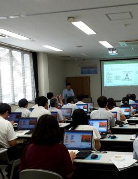 プログラミング講習会 in 岩国市
